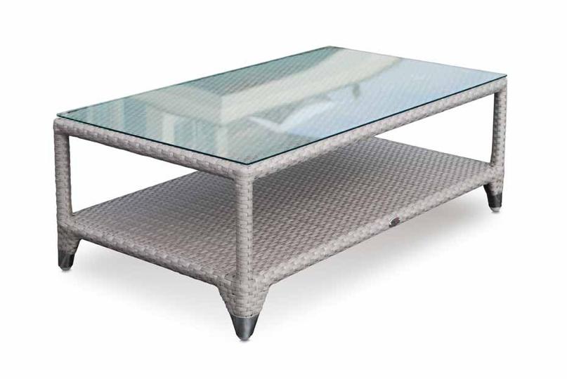 Кофейный столикСтолы для улицы<br><br><br>Material: Ротанг<br>Length см: None<br>Width см: 121<br>Depth см: 71<br>Height см: 44