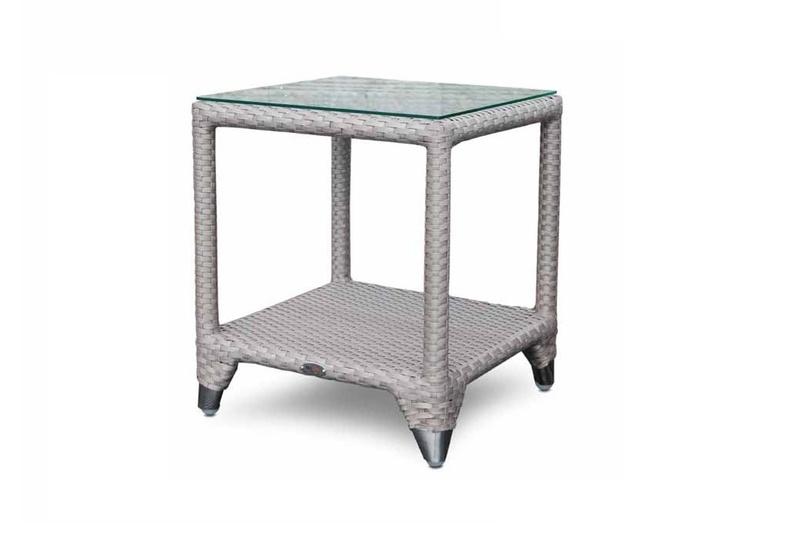 Приставной столикСтолы для улицы<br><br><br>Material: Ротанг<br>Width см: 50<br>Depth см: 50<br>Height см: 56