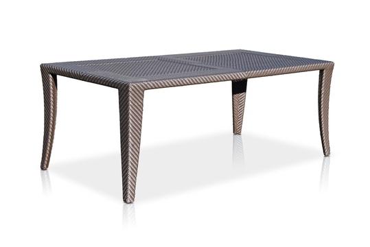 Стол обеденныйСтолы для улицы<br><br><br>Material: Ротанг<br>Width см: 200<br>Depth см: 100<br>Height см: 74