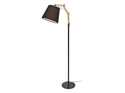 Торшер (arte lamp) черный 65x139x25 см.