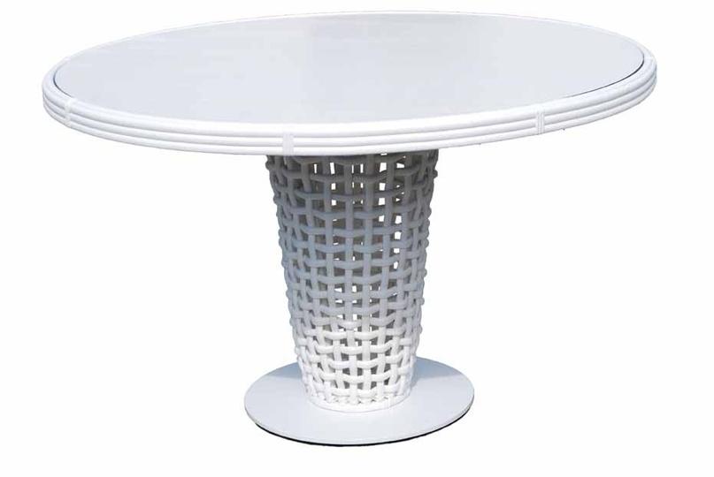 Стол обеденныйСтолы для дачи<br><br><br>Material: Ротанг<br>Height см: 75<br>Diameter см: 120