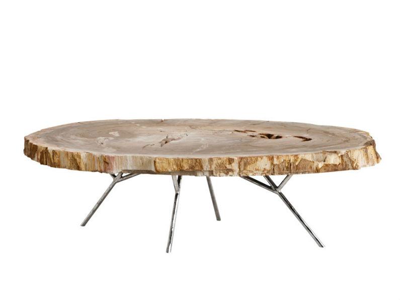 Журнальный столикЖурнальные столики<br>Оригинальная столешница из окаменелой породы древесины.&amp;lt;div&amp;gt;&amp;lt;br&amp;gt;&amp;lt;div&amp;gt;Материалы: дерево, нержавеющая сталь&amp;lt;/div&amp;gt;&amp;lt;/div&amp;gt;<br><br>Material: Дерево<br>Ширина см: 120<br>Высота см: 35<br>Глубина см: 85