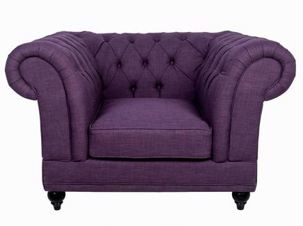 Кресло dasen (mak-interior) фиолетовый 98x72x98 см.