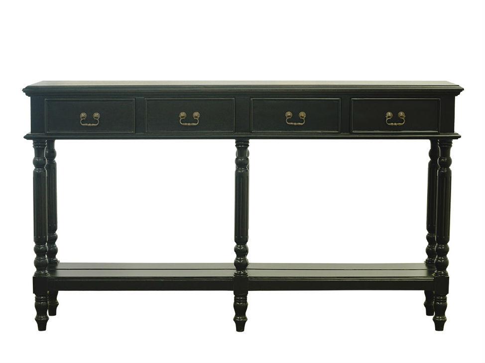 Консоль Morris Console TableКонсоли с ящиками<br><br><br>Material: Дерево<br>Width см: 84<br>Depth см: 27<br>Height см: 147