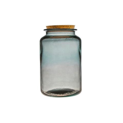 БанкаБанки и бутылки<br>San Miguel (Испания) – это мощнейшая компания, которая занимается производством очень качественной и оригинальной продукции из переработанного стекла. Vidrios San Miguel известный бренд во всем мире. В наши дни, Vidrios San Miguel имеет более чем 25 000 торговых точек.  Vidrios San Miguel занимается производством стеклянных изделий: посуда, бутылки, вазы, сувениры, украшения и многое другое. Основной экспорт происходит в страны: западной и восточной Европы, Америки, Азии и Африки.<br><br>Material: Стекло<br>Height см: 25<br>Diameter см: 15
