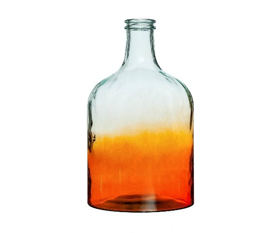 БутыльБанки и бутылки<br>San Miguel (Испания) – это мощнейшая компания, которая занимается производством очень качественной и оригинальной продукции из переработанного стекла. Vidrios San Miguel известный бренд во всем мире. В наши дни, Vidrios San Miguel имеет более чем 25 000 торговых точек.  Vidrios San Miguel занимается производством стеклянных изделий: посуда, бутылки, вазы, сувениры, украшения и многое другое. Основной экспорт происходит в страны: западной и восточной Европы, Америки, Азии и Африки.<br><br>Material: Стекло<br>Height см: 43<br>Diameter см: 25