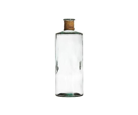 БутыльБанки и бутылки<br>San Miguel (Испания) – это мощнейшая компания, которая занимается производством очень качественной и оригинальной продукции из переработанного стекла. Vidrios San Miguel известный бренд во всем мире. В наши дни, Vidrios San Miguel имеет более чем 25 000 торговых точек.  Vidrios San Miguel занимается производством стеклянных изделий: посуда, бутылки, вазы, сувениры, украшения и многое другое. Основной экспорт происходит в страны: западной и восточной Европы, Америки, Азии и Африки.<br><br>Material: Стекло<br>Height см: 40<br>Diameter см: 18