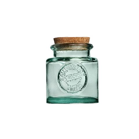 Банка АутентикЕмкости для хранения<br>San Miguel (Испания) – это мощнейшая компания, которая занимается производством очень качественной и оригинальной продукции из переработанного стекла. Vidrios San Miguel известный бренд во всем мире. В наши дни, Vidrios San Miguel имеет более чем 25 000 торговых точек.  Vidrios San Miguel занимается производством стеклянных изделий: посуда, бутылки, вазы, сувениры, украшения и многое другое. Основной экспорт происходит в страны: западной и восточной Европы, Америки, Азии и Африки.<br><br>Material: Стекло<br>Height см: 13<br>Diameter см: 12