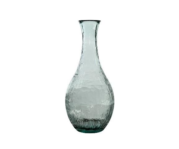 Ваза декоративнаяВазы<br>San Miguel (Испания) – это мощнейшая компания, которая занимается производством очень качественной и оригинальной продукции из переработанного стекла. Vidrios San Miguel известный бренд во всем мире. В наши дни, Vidrios San Miguel имеет более чем 25 000 торговых точек.  Vidrios San Miguel занимается производством стеклянных изделий: посуда, бутылки, вазы, сувениры, украшения и многое другое. Основной экспорт происходит в страны: западной и восточной Европы, Америки, Азии и Африки.<br><br>Material: Стекло