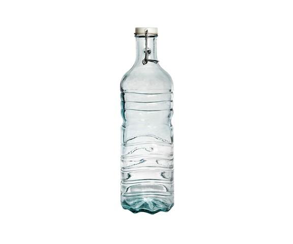 БутыльБанки и бутылки<br>San Miguel (Испания) – это мощнейшая компания, которая занимается производством очень качественной и оригинальной продукции из переработанного стекла. Vidrios San Miguel известный бренд во всем мире. В наши дни, Vidrios San Miguel имеет более чем 25 000 торговых точек. Vidrios San Miguel занимается производством стеклянных изделий: посуда, бутылки, вазы, сувениры, украшения и многое другое. Основной экспорт происходит в страны: западной и восточной Европы, Америки, Азии и Африки.<br><br>Material: Стекло<br>Height см: 33<br>Diameter см: 10