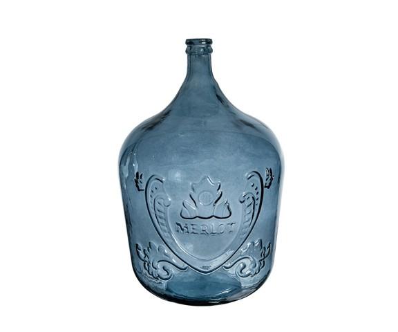 БутыльБанки и бутылки<br>San Miguel (Испания) – это мощнейшая компания, которая занимается производством очень качественной и оригинальной продукции из переработанного стекла. Vidrios San Miguel известный бренд во всем мире. В наши дни, Vidrios San Miguel имеет более чем 25 000 торговых точек. Vidrios San Miguel занимается производством стеклянных изделий: посуда, бутылки, вазы, сувениры, украшения и многое другое. Основной экспорт происходит в страны: западной и восточной Европы, Америки, Азии и Африки.<br><br>Material: Стекло<br>Height см: 56<br>Diameter см: 40