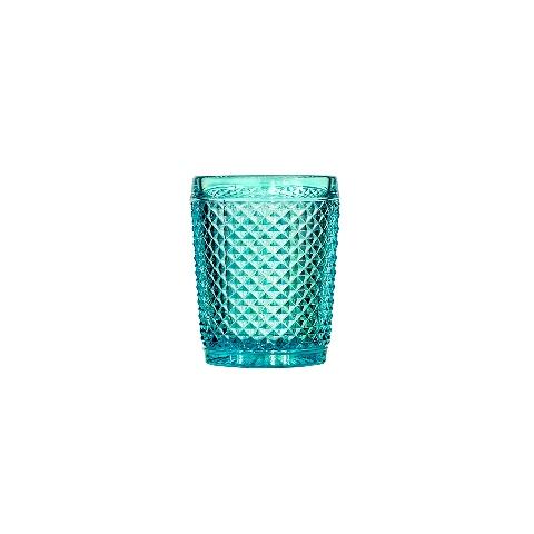 СтаканСтаканы<br>Фабрика VISTA ALEGRE с 1824 года изготавливает изделия из цветного стекла , смешивая песок и натуральные пигменты. Стеклянные изделия создают ручным способом путем заливания в пресс-формы жидкого стекла. Уникальные цвета и узоры на изделиях позволяют использовать их в любых интерьерных стилях, будь то Шебби шик, арт деко, богемный шик, винтаж или современный стиль.<br><br>Material: Стекло