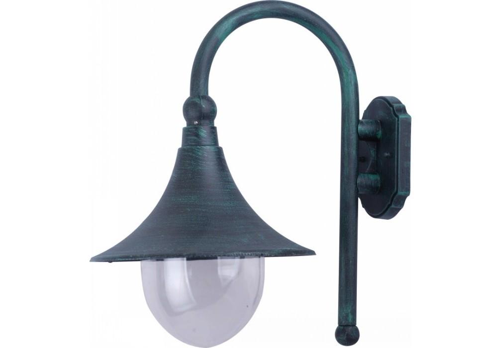 Уличный настенный светильникУличные настенные светильники<br>&amp;lt;div&amp;gt;Тип цоколя: E27&amp;lt;/div&amp;gt;&amp;lt;div&amp;gt;Мощность лампы: 100W&amp;lt;/div&amp;gt;&amp;lt;div&amp;gt;Количество ламп: 1&amp;lt;/div&amp;gt;&amp;lt;div&amp;gt;Степень пылевлагозащиты: IP44&amp;lt;/div&amp;gt;<br><br>Material: Алюминий<br>Width см: /25<br>Depth см: 35<br>Height см: 45