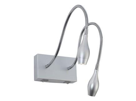 Бра (arte lamp) серебристый 14x8x50 см.