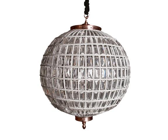 Подвесной светильник КазбахПодвесные светильники<br>RESTORATION HARDWARE – культовый бренд для дизайнеров всего мира.Готовые интерьеры и отдельные предметы мебели и декора RESTORATION HARDWARE практически сразу стали «секретным оружием» престижных дизайнеров, которые используют безупречную продукцию RESTORATION HARDWARE для оформления жилых и общественных помещений.&amp;lt;div&amp;gt;&amp;lt;br&amp;gt;&amp;lt;/div&amp;gt;&amp;lt;div&amp;gt;&amp;lt;div&amp;gt;Вид цоколя: Е14&amp;lt;/div&amp;gt;&amp;lt;div&amp;gt;Мощность лампы: 40W&amp;lt;/div&amp;gt;&amp;lt;div&amp;gt;Количество ламп: 5&amp;amp;nbsp;(нет в комплекте)&amp;lt;/div&amp;gt;&amp;lt;/div&amp;gt;<br><br>Material: Стекло<br>Height см: 85<br>Diameter см: 61