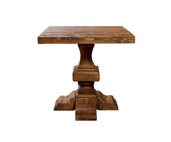 Стол ПарижОбеденные столы<br><br><br>Material: Дуб<br>Width см: 80<br>Depth см: 80<br>Height см: 78