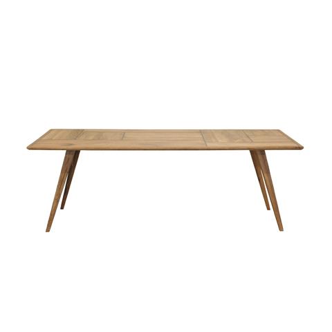 Стол ПортландОбеденные столы<br>Стол одинаково близком скандинавской и американской интерьерным традициям.<br><br>Material: Дуб<br>Width см: 220<br>Depth см: 100<br>Height см: 77