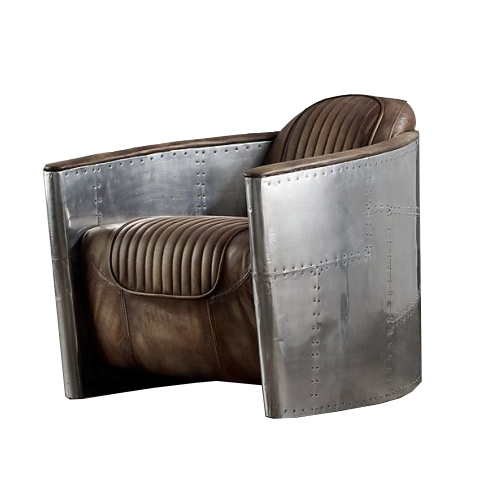 Кресло АвиаторКожаные кресла<br>RESTORATION HARDWARE – культовый бренд для дизайнеров всего мира.Готовые интерьеры и отдельные предметы мебели и декора RESTORATION HARDWARE практически сразу стали «секретным оружием» престижных дизайнеров, которые используют безупречную продукцию RESTORATION HARDWARE для оформления жилых и общественных помещений.<br><br>Material: Кожа<br>Width см: 71<br>Depth см: 94<br>Height см: 71<br>Diameter см: None