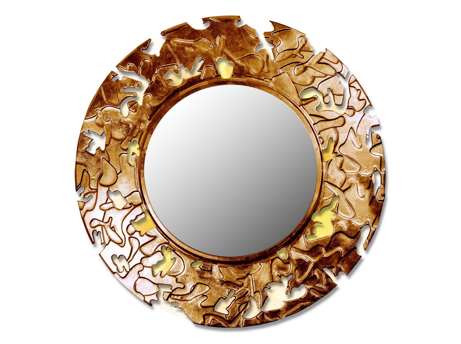 Зеркало CAMOUFLAGEНастенные зеркала<br>Данный вариант представлен в круглой форме<br><br>Material: Дерево<br>Depth см: 0,8<br>Diameter см: 99