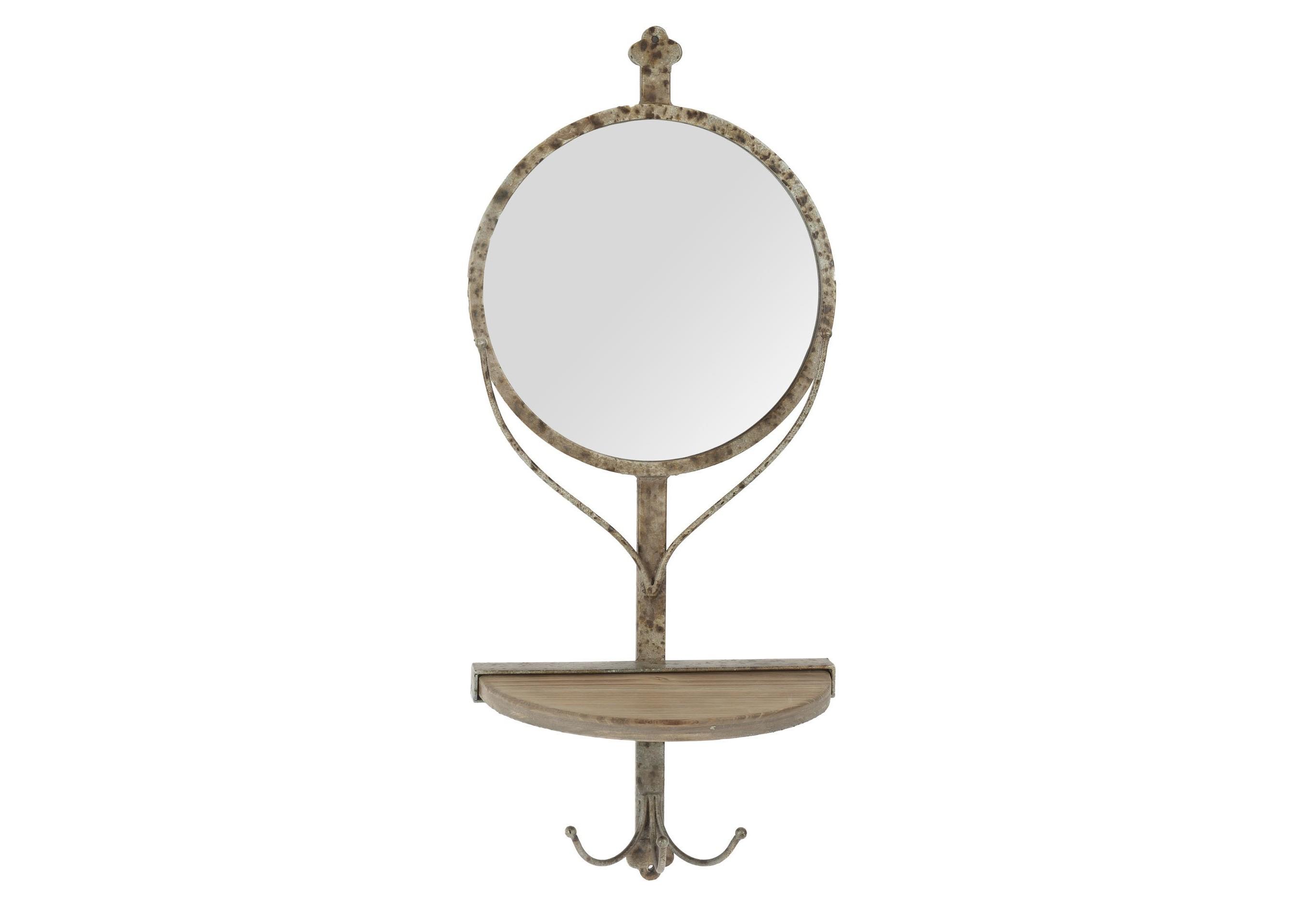 Зеркало настенное FiumicinoНастенные зеркала<br><br><br>Material: Стекло<br>Width см: 25<br>Depth см: 12<br>Height см: 58,5
