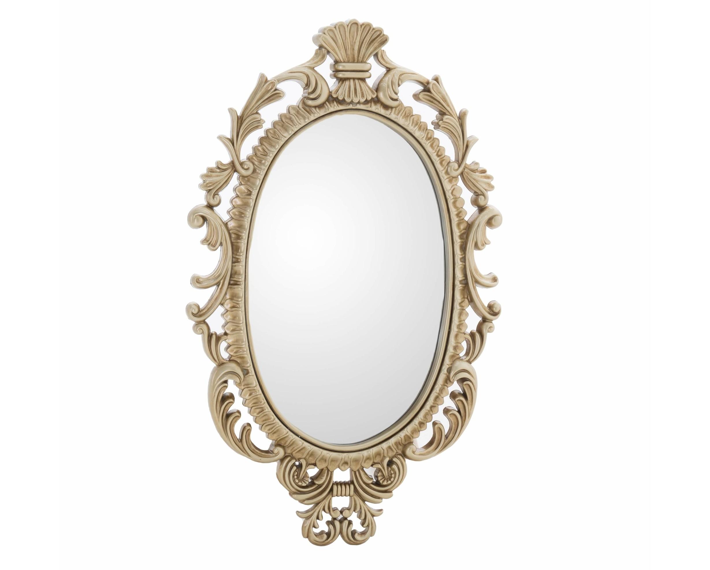 Зеркало настенное Frankavilla-SicilyНастенные зеркала<br><br><br>Material: Полистоун<br>Width см: 44<br>Depth см: 4<br>Height см: 73<br>Diameter см: None