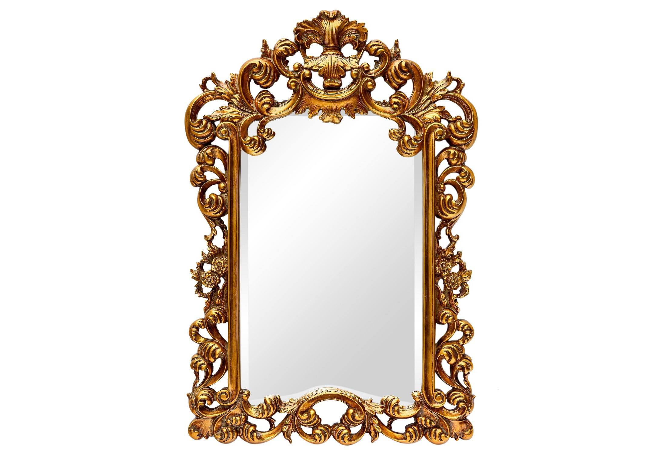 Зеркало Bogeme GoldНастенные зеркала<br><br><br>Material: Пластик<br>Width см: 61<br>Depth см: 4,5<br>Height см: 91,5