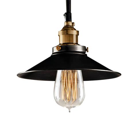 СВЕТИЛЬНИК ФИЛАМЕНТ СИНГЛПодвесные светильники<br>&amp;quot;Филамент Сингл&amp;quot; ? светильник, выполненный в стиле осветительных приборов, использовавшихся на промышленных объектах начала XX века. Он возрождает винтажный силуэт и сохраняет классические пропорции стиля индастриал. Стальной абажур открывает взору лампу edison-style и позволяет ей распространять больше света.<br><br>Material: Металл