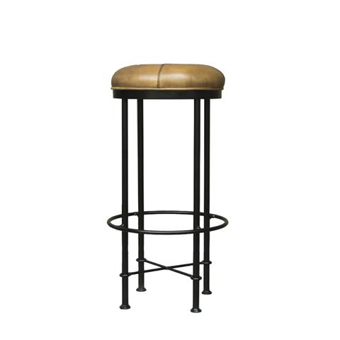 Стул барный ЭванБарные стулья<br>Просторные лофты, отличающиеся необычным оформлением, могут выглядеть очень уютно благодаря использованию особенной мебели. Таковой можно считать барный стул &amp;quot;Эван&amp;quot;. Он выглядит весьма нетривиально за счет металлического каркаса. Его круглая форма с плавными изгибами добавляет облику стула изысканность. Сиденье из роскошной кожи зеленого оттенка делает дизайн более презентабельным.<br><br>Material: Кожа<br>Length см: None<br>Width см: None<br>Depth см: None<br>Height см: None<br>Diameter см: None