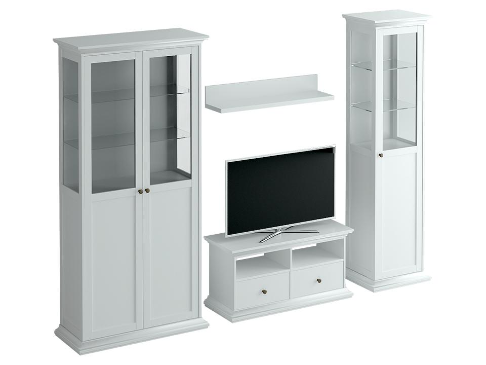 Композиция Reina 4Комплекты для столовой<br>Композиция для гостиной Reina - это современная классика: модульная комплектация, организация мест хранения и размещения бытовой техники, делают ее абсолютно комфортной для жизни современного человека.&amp;lt;div&amp;gt;&amp;lt;br&amp;gt;&amp;lt;/div&amp;gt;&amp;lt;div&amp;gt;Ручки в комплект не входят&amp;lt;/div&amp;gt;<br><br>Material: ДСП<br>Width см: 254<br>Depth см: 42<br>Height см: 201