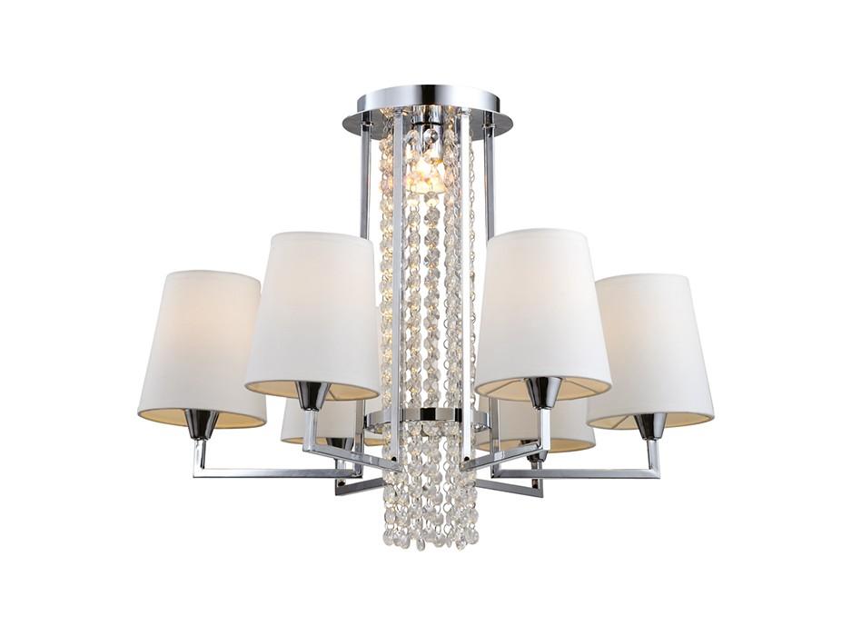ЛюстраЛюстры на штанге<br>&amp;lt;div&amp;gt;Вид цоколя: Е14&amp;lt;/div&amp;gt;&amp;lt;div&amp;gt;Мощность лампы: 40W&amp;lt;/div&amp;gt;&amp;lt;div&amp;gt;Количество ламп: 6 (нет в комплекте)&amp;lt;/div&amp;gt;&amp;lt;div&amp;gt;&amp;lt;br&amp;gt;&amp;lt;/div&amp;gt;<br><br>Material: Пластик<br>Height см: 41<br>Diameter см: 62
