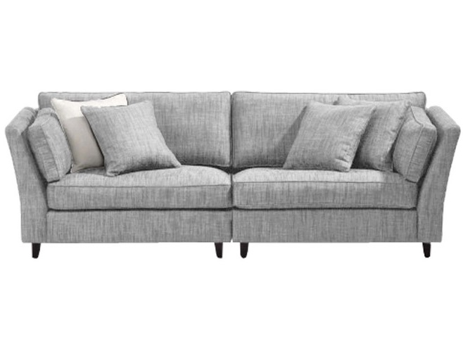 Диван Liberty sofaТрехместные диваны<br>Каждому из нас иногда хочется понежиться на просторном диване в окружении множества мягких подушек. Вашему желанию поможет осуществиться &amp;quot;Liberty Sofa&amp;quot;. Этот диван в минималистичном скандинавском стиле поразит вас своей комфортабельностью. Отличающийся большим размером, мягкой льняной обивкой и продуманной формой спинки и подлокотников, он позволит своему владельцу расслабиться и набраться сил для новых достижений.<br><br>Material: Текстиль<br>Ширина см: 218.0<br>Высота см: 80.0<br>Глубина см: 91.0
