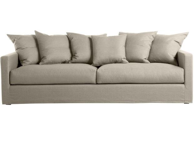 Диван Rhode island sofaДиваны четырехместные и более<br>С диваном &amp;quot;Rhode Island Sofa&amp;quot; у вас не возникнет проблем с размещением гостей. Обладающий большими размерами, он даст возможность одновременно пребывать в комфорте минимум четырем людям. Светлая обивка сделает его идеальным для интерьеров в любой гамме.<br><br>Material: Текстиль<br>Length см: 225<br>Depth см: 100<br>Height см: 80