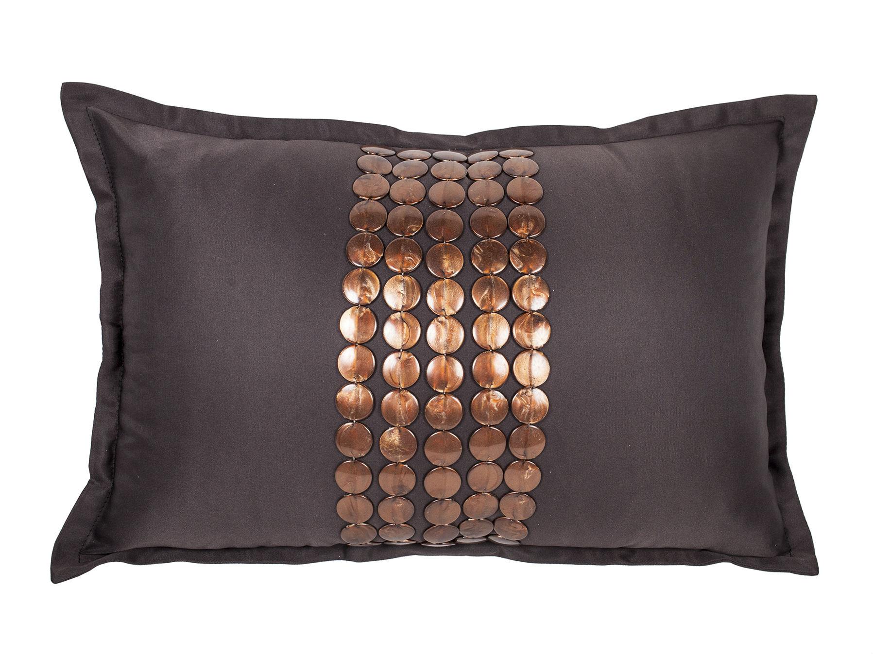 Декоративная подушка Handwork ExclusiveПрямоугольные подушки<br>Ручное декорирование.<br><br>Material: Сатин<br>Length см: None<br>Width см: 45<br>Depth см: 4<br>Height см: 30
