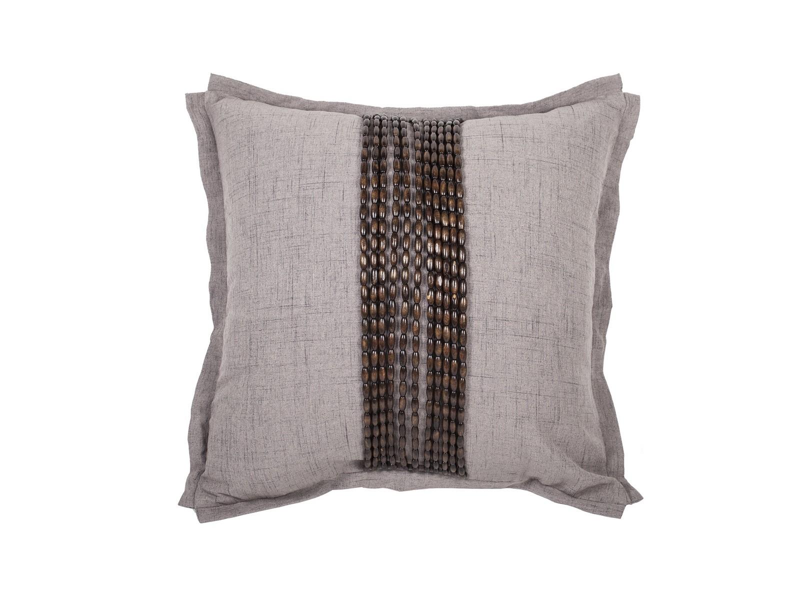 Декоративная подушка Handwork ExclusiveКвадратные подушки и наволочки<br>Ручное декорирование.<br><br>Material: Лен<br>Length см: None<br>Width см: 45<br>Depth см: 4<br>Height см: 45