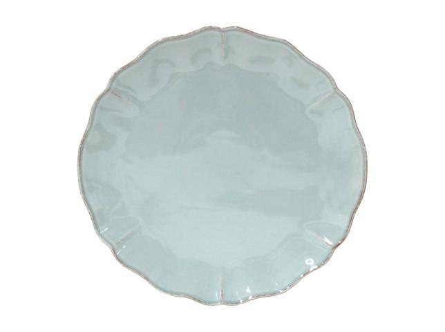 БлюдоТарелки<br>Керамическая посуда Costa Nova абсолютно устойчива к мытью, даже в посудомоечной машине, ее вполне можно использовать для замораживания продуктов и в микроволновой печи, при этом можно не бояться повредить эту великолепную глазурь и свежие краски. Такую посуду легко мыть, при ее очистке можно использовать металлические губки – и все это благодаря прочному глазурованному покрытию.<br><br>Material: Керамика<br>Diameter см: 33