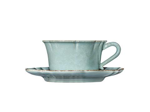 Чашка с блюдцемЧайные пары, чашки и кружки<br>Керамическая посуда Costa Nova абсолютно устойчива к мытью, даже в посудомоечной машине, ее вполне можно использовать для замораживания продуктов и в микроволновой печи, при этом можно не бояться повредить эту великолепную глазурь и свежие краски. Такую посуду легко мыть, при ее очистке можно использовать металлические губки – и все это благодаря прочному глазурованному покрытию.&amp;lt;div&amp;gt;&amp;lt;br&amp;gt;&amp;lt;/div&amp;gt;&amp;lt;div&amp;gt;Объем: 400 мл&amp;lt;/div&amp;gt;<br><br>Material: Керамика