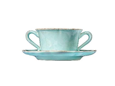 Чашка с блюдцемЧайные пары и чашки<br>Керамическая посуда Costa Nova абсолютно устойчива к мытью, даже в посудомоечной машине, ее вполне можно использовать для замораживания продуктов и в микроволновой печи, при этом можно не бояться повредить эту великолепную глазурь и свежие краски. Такую посуду легко мыть, при ее очистке можно использовать металлические губки – и все это благодаря прочному глазурованному покрытию.&amp;lt;div&amp;gt;&amp;lt;br&amp;gt;&amp;lt;/div&amp;gt;&amp;lt;div&amp;gt;Объем: 400 мл&amp;lt;/div&amp;gt;<br><br>Material: Керамика