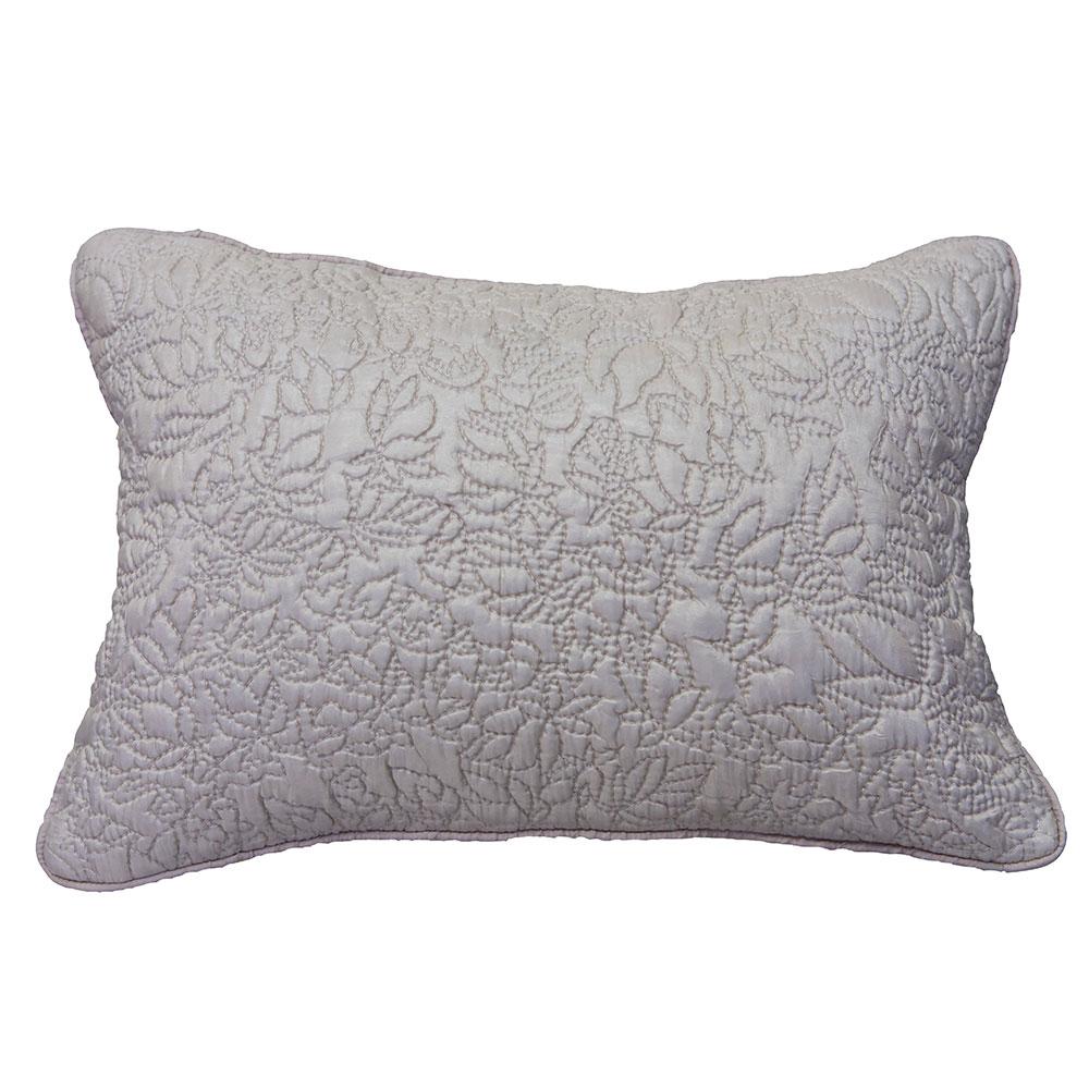 Подушка декоративная Silky IvyКвадратные подушки<br>Элегантная подушка  Silky Ivy декорирована объемной стежкой, повторяющей контуры растительного орнамента.&amp;lt;div&amp;gt;&amp;lt;br&amp;gt;&amp;lt;/div&amp;gt;&amp;lt;div&amp;gt;Цвет: розовый перламутр.&amp;lt;br&amp;gt;&amp;lt;/div&amp;gt;<br><br>Material: Шелк<br>Width см: 40<br>Depth см: 10<br>Height см: 30<br>Diameter см: None