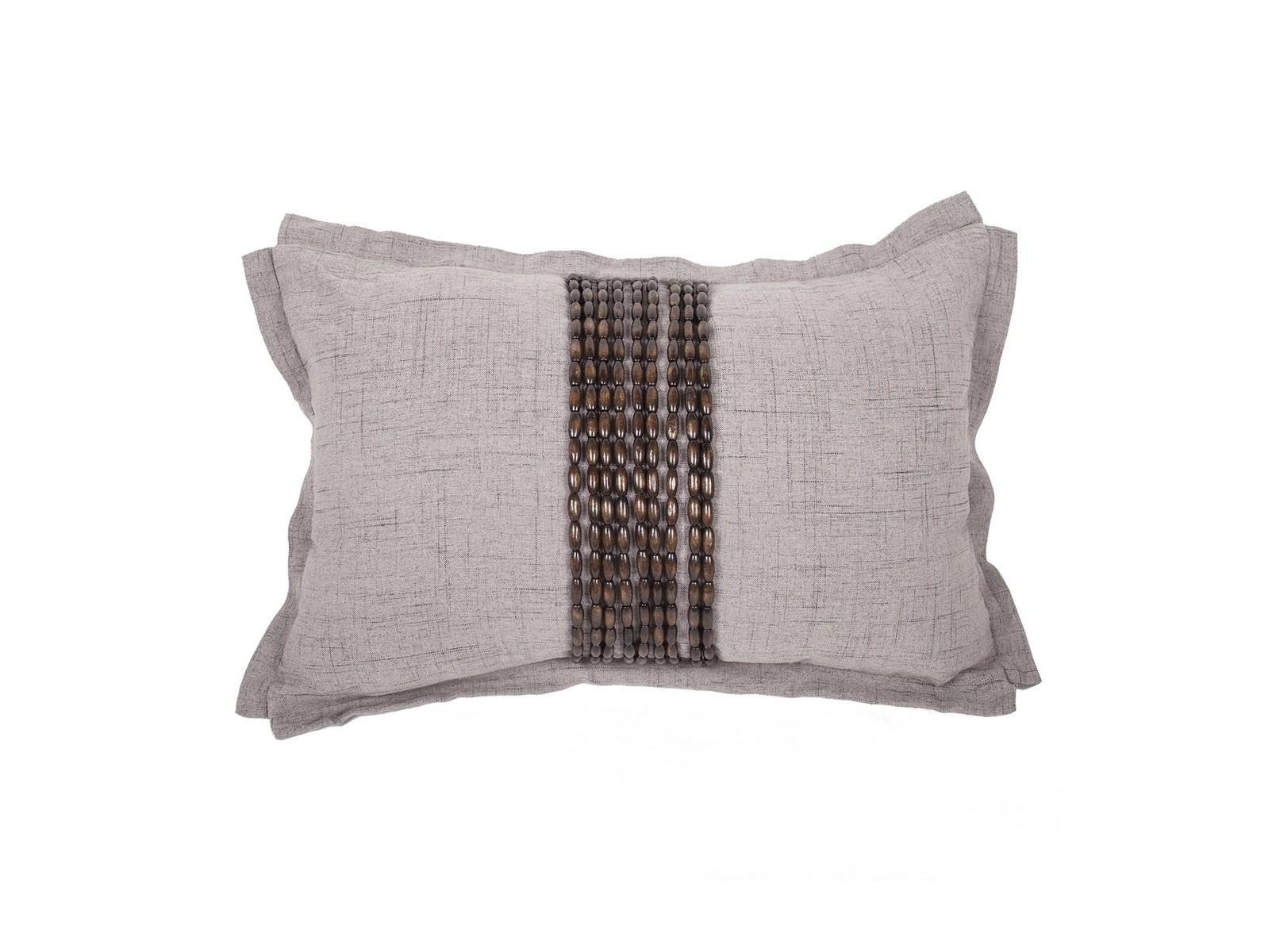Декоративная подушка Handwork ExclusiveПрямоугольные подушки и наволочки<br>Ручное декорирование.<br><br>Material: Лен<br>Width см: 45<br>Depth см: 4<br>Height см: 30