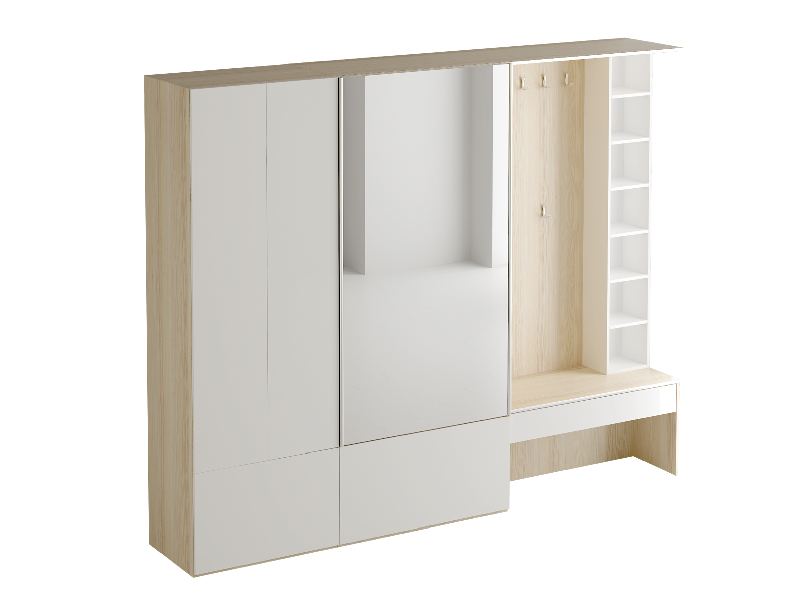 Композиция Passage №2Комплекты мебели<br>&amp;lt;span style=&amp;quot;line-height: 24.9999px;&amp;quot;&amp;gt;Композиция для прихожей.&amp;lt;/span&amp;gt;<br><br>Material: ДСП<br>Width см: 260<br>Depth см: 49<br>Height см: 210