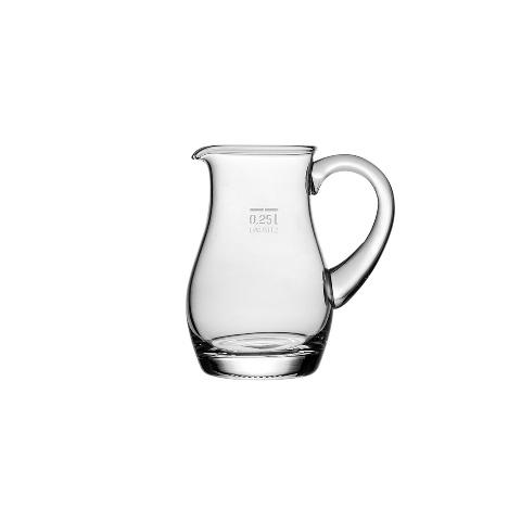 КувшинКувшины и графины<br>Компания Stolzle (Германия) основанная в 1805 году,  является одним из ведущих лидеров по производству стеклянной посуды. Потребительские рынки по всему миру получают высококачественную продукцию, символизирующую престиж, красоту и здравоохранение. Помимо домашнего использования, продукцию Stolzle часто используют в ресторанной и гостиничной сфере. Весь персонал компании состоит из опытных специалистов международного уровня. Продукция Stolzle поставляется более чем в 80 стран по всему миру.&amp;lt;div&amp;gt;&amp;lt;br&amp;gt;&amp;lt;/div&amp;gt;&amp;lt;div&amp;gt;Объем: 250 мл&amp;lt;/div&amp;gt;<br><br>Material: Стекло