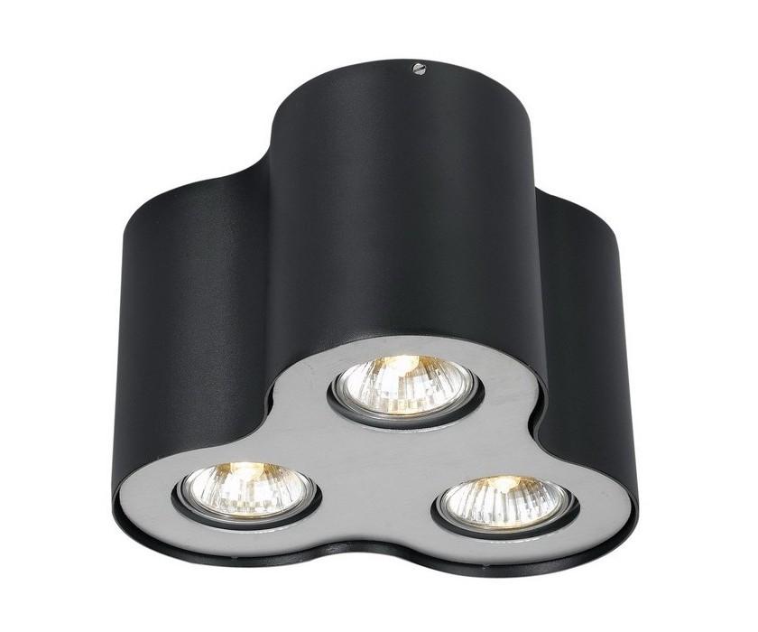 Потолочный светильникТочечный свет<br>&amp;lt;div&amp;gt;Тип цоколя: GU10&amp;lt;/div&amp;gt;&amp;lt;div&amp;gt;Мощность лампы: 50&amp;lt;/div&amp;gt;&amp;lt;div&amp;gt;Количество ламп: 3&amp;lt;/div&amp;gt;<br><br>Material: Металл<br>Height см: 15<br>Diameter см: 22
