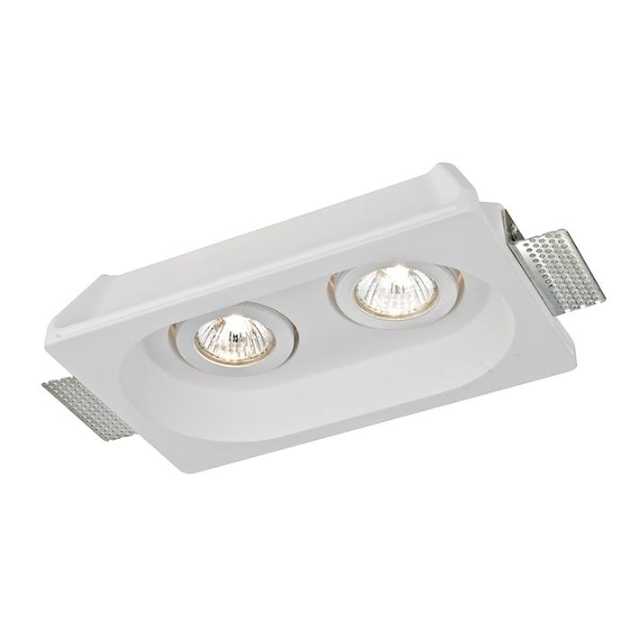 Потолочный светильникТочечный свет<br>&amp;lt;div&amp;gt;Тип цоколя: GU10&amp;lt;/div&amp;gt;&amp;lt;div&amp;gt;Мощность лампы: 70&amp;lt;/div&amp;gt;&amp;lt;div&amp;gt;Количество ламп: 2&amp;lt;/div&amp;gt;<br><br>Material: Гипс<br>Ширина см: 25<br>Высота см: 5<br>Глубина см: 15