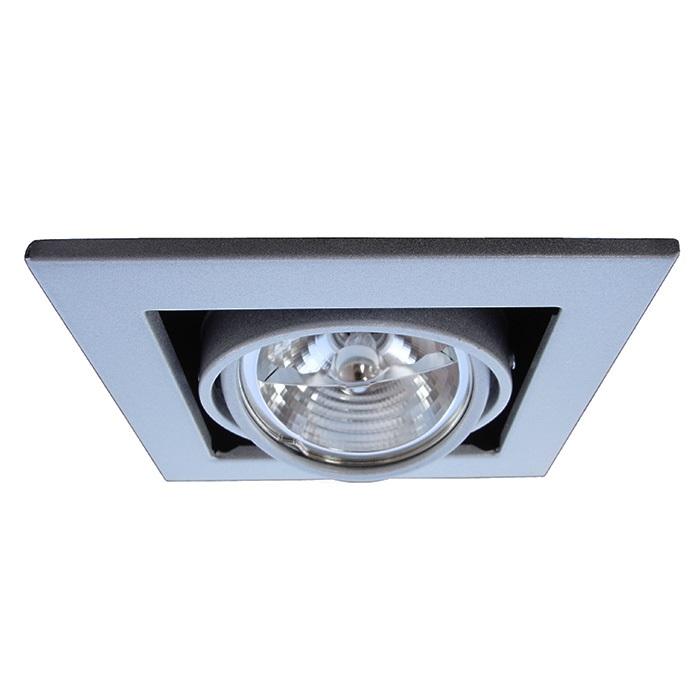 Потолочный светильникТочечный свет<br>&amp;lt;div&amp;gt;Тип цоколя: G5.3&amp;lt;/div&amp;gt;&amp;lt;div&amp;gt;Мощность лампы: 50&amp;lt;/div&amp;gt;&amp;lt;div&amp;gt;Количество ламп: 1&amp;lt;/div&amp;gt;<br><br>Material: Металл<br>Ширина см: 14<br>Высота см: 12<br>Глубина см: 14