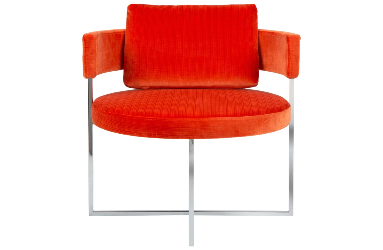 Кресло SirioИнтерьерные кресла<br><br><br>Material: Кожа<br>Width см: 52<br>Depth см: 52<br>Height см: 70