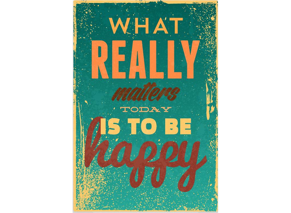 Постер Be happy Размер A1Постеры<br>What realy matters today is to be happy   -   То, что действительно имеет значение сегодня - это быть счастливым  .<br>Не стоит придавать слишком много значений неприятным мелочам. Пробки на дорогах, суета, слякоть, дождь, зной, севший телефон, красный свет на светофоре, забытые ключи, кризис, пропущенные вызовы - всё это мелочи, на которые не стоит обращать внимание. Главное - это быть счастливым.<br>Попробуйте найти что-то хорошее даже тогда, когда ситуация кажется практически безвыходной. <br>Будьте счастливы, делитесь счастьем. PicPaint знает как.<br><br>Material: Бумага<br>Width см: 42<br>Height см: 59