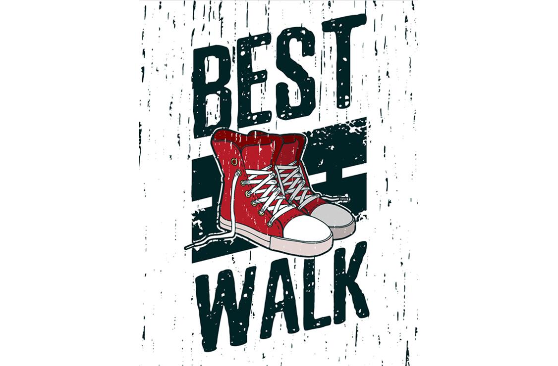 Постер Best walk Размер A2Постеры<br>Лучшая прогулка  <br>Все знают о пользе утренней пробежки, но не все готовы вставать в шесть утра, чтобы успеть пробежаться по парку перед работой.<br>А зря. В здоровом теле - здоровый дух! А так же хорошее настроение и заряд энергии на весь день! Ничто так не бодрит и не тонизирует, как хорошая пробежка или спортивная ходьба.<br>Постер   Best walk   станет для Вас отличным напоминанием о том, что иногда пробежаться утром полезно не только для тела, но и для души. Собраться с мыслями и настроиться на рабочий день.<br><br>Material: Бумага<br>Width см: 42<br>Height см: 59