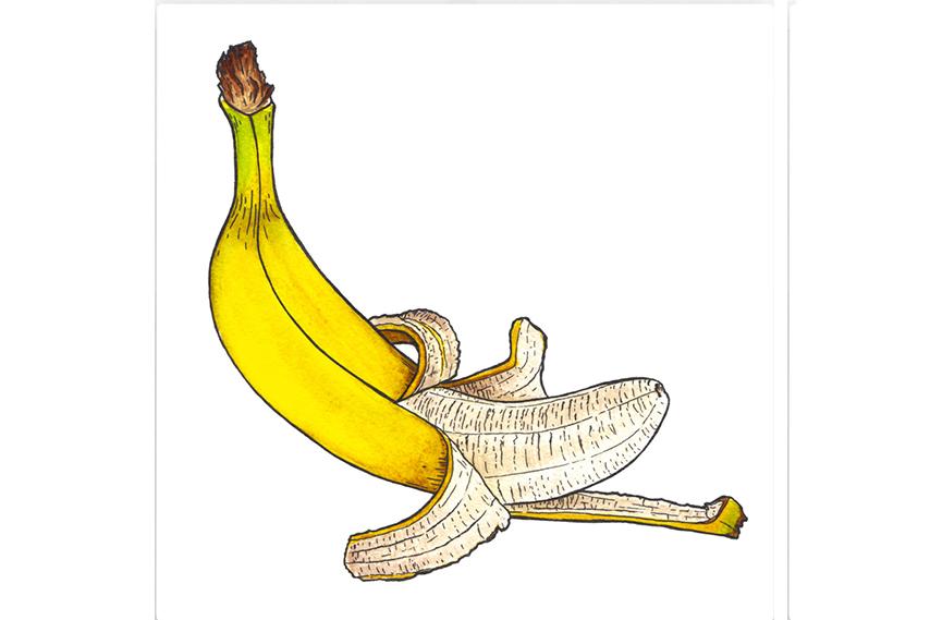 Картина БананКартины<br>Как известно, банан имеет массу полезных свойств для здоровья человека: этот фрукт благотворно влияет на работу сердечно-сосудистой системы, улучшает состояние кожи, нормализует давление и поднимает настроение. Но что особенно приятно: любители бананов никогда не жалуются на свою сексуальную жизнь    чему есть вполне научное объяснение.<br>Но мало кто  знает, что банан нанесенный на постер, будет иметь в два раза больше пользы!<br>Разместив его у себя дома Вы сможете наслаждаться им ещё и визуально! <br>Яркий желтый цвет поднимет настроение и зарядит положительной энергией на весь день. А Ваш интерьер пополнится современным дизайнерским элементом, который придаст ему оригинальный стиль и неповторимый характер.<br><br>Material: Холст<br>Width см: 60<br>Depth см: 2<br>Height см: 60