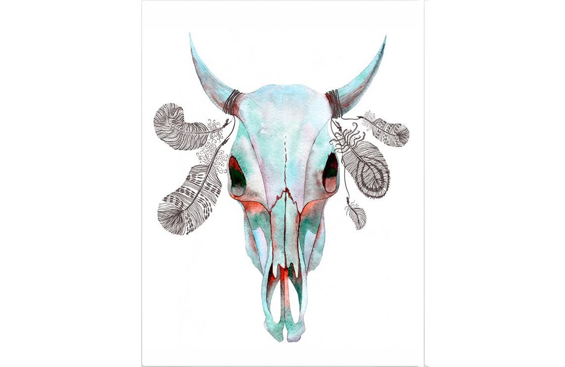 Картина Пустынная короваКартины<br>Картина   Пустынная корова   может много рассказать о нелегкой жизни в пустыне. Кочующие стада диких бизонов, пустынные коровы и прочие обитатели этой суровой среды, не редко становятся добычей для браконьеров или более сильных животных. Но об одной корове ходят воистину удивительные легенды. Говорят, что в этих пустынных краях некогда жил одинокий шаман, который всю свою жизнь проводил в отшельничестве. Единственным его спутником была корова, на рога которой он привязывал перья птиц и амулеты из их костей. А когда шаман умер, пустынная корова ещё долго бродила одна в поисках воды, еды и убежища. Где она закончила свой путь - не известно никому . Но ходят слухи, что тот, кто найдет её череп, получит всё могущество одинокого шамана.<br>Не упустите возможность стать покорителем пустынь, ведь череп пустынной коровы уже практически в ваших руках.<br><br>Material: Холст<br>Width см: 50<br>Height см: 70