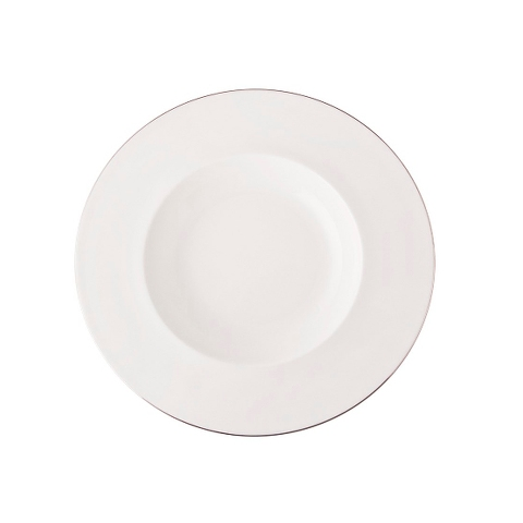 Тарелка глубокаяТарелки<br>MIKASA по праву считается одним из мировых лидеров по производству столовой посуды из фарфора и керамики. На протяжении более полувека категории качества и дизайна являются неотъемлемой частью бренда MIKASA. Сегодня MIKASA сотрудничает со многими известными дизайнерами, работающими для лучших фабрик мира, и использует самые передовые технологии в производстве посуды. Все продукты бренда  MIKASA безупречны с точки зрения дизайна и исполнения. Благодаря огромному стилистическому разнообразию каждый может выбрать для себя подходящую коллекцию. Несмотря на впечатляющее число конкурентов в области производства столовой посуды, компания MIKASA уже много лет находится в верхних строках списков лидеров мирового масштаба. Изготовленная под именем марки посуда представляет собой безукоризненное совершенство дизайна, сочетаемое с безупречным качеством.<br><br>Material: Фарфор<br>Diameter см: 22